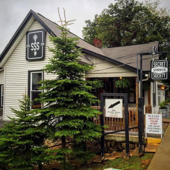 5. The Secret Sandwich Society in Fayetteville