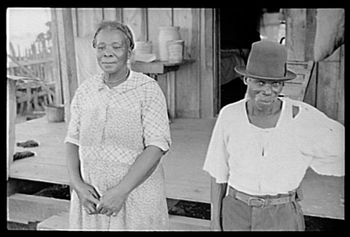 6. Sharecropper and Wife