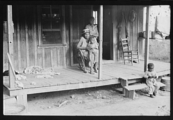 21. Sharecropper's Family