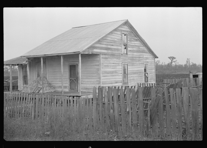 11. Sharecropper's Home