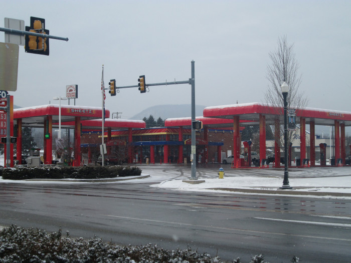10. Sheetz doesn't serve the best food of any roadside business of all time.