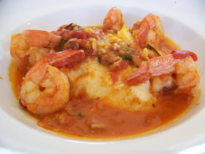 8. Tourists think we eat shrimp and grits all the time. We don't - but we let outsiders think we live on it.