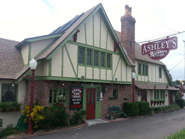 1. The ghost of Ashley's Restaurant
