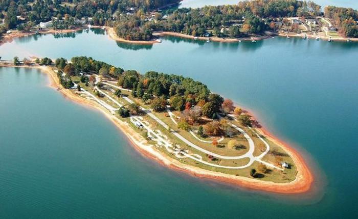 9. South Cove County Park on Lake Keowee  - Seneca, SC