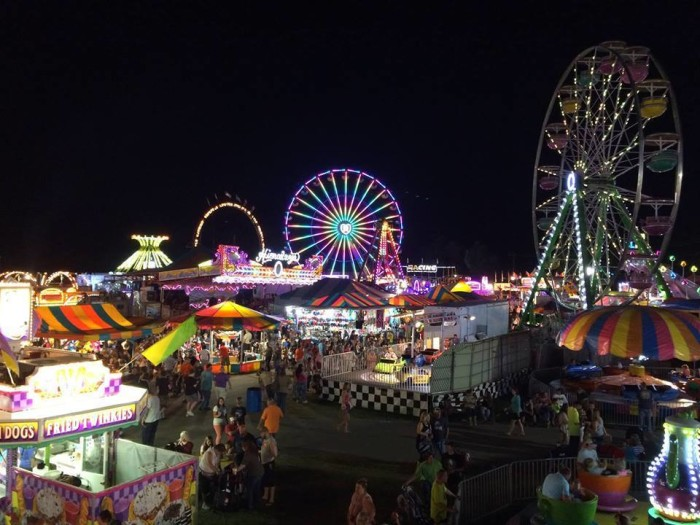 13. Channel your inner child at the State Fair of West Virginia