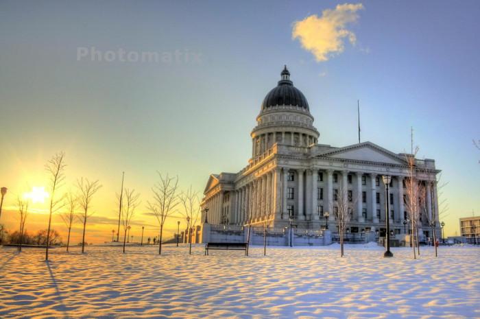 14. Utah State Capitol