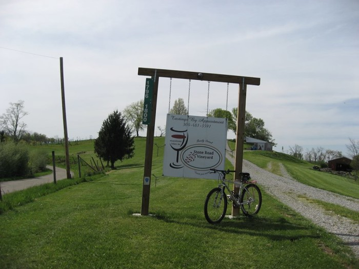 8. Stone Road Vineyard in Wirt County