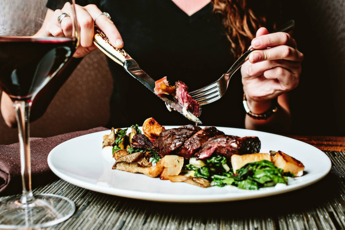 10. Have a mouth watering steak at The Oak Table in Columbia.