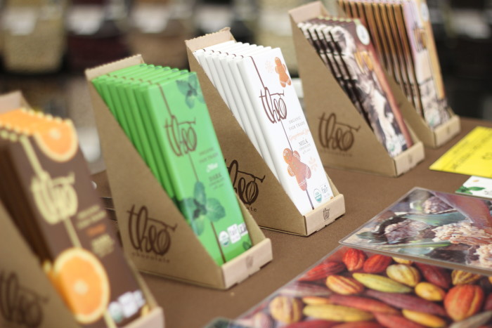 2. Theo Chocolate Bars...