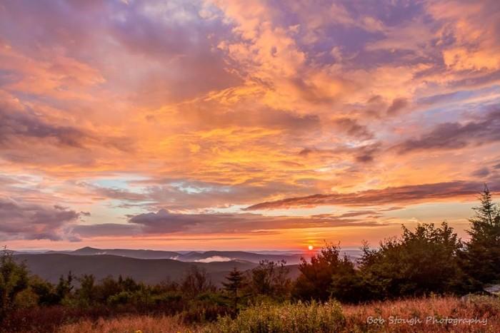 14. This sunset taken at Spruce Knob