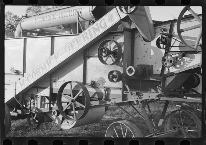 9. Threshing Machine
