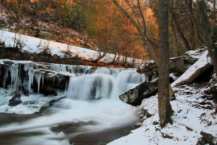 1. This shot taken at sunset on the New River in the near ghost town of Thurmond.