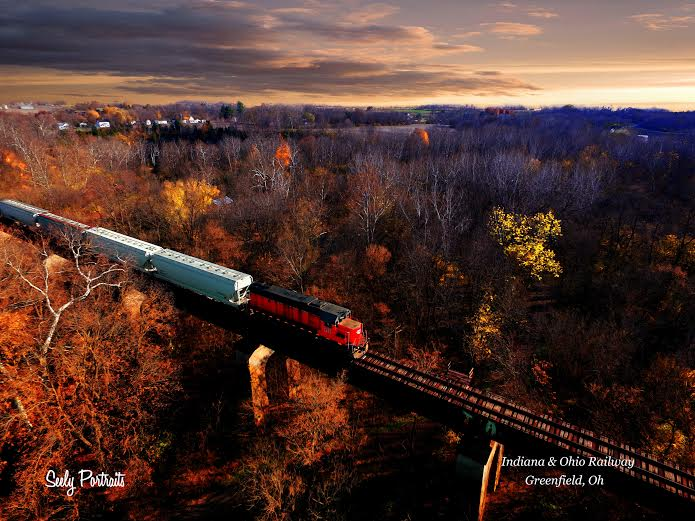 18. The Indiana and Ohio Railway in Greenfield, OH