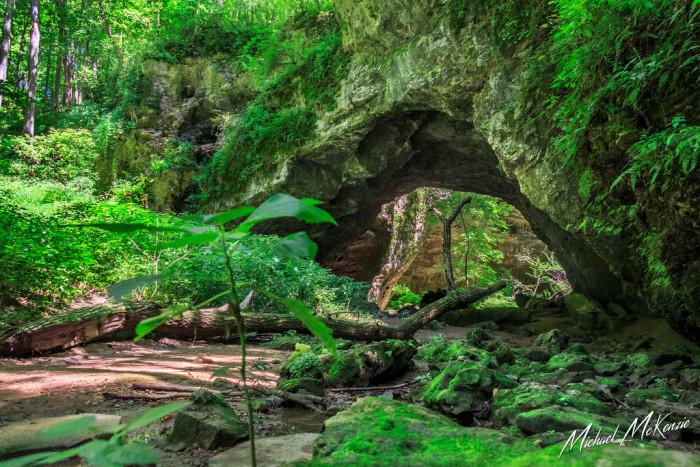 Iowa: Maquoketa Caves State Park