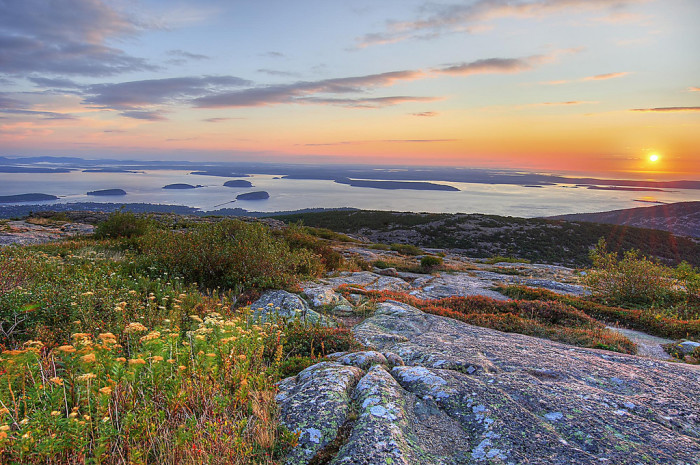 Maine: Cadillac Mountain