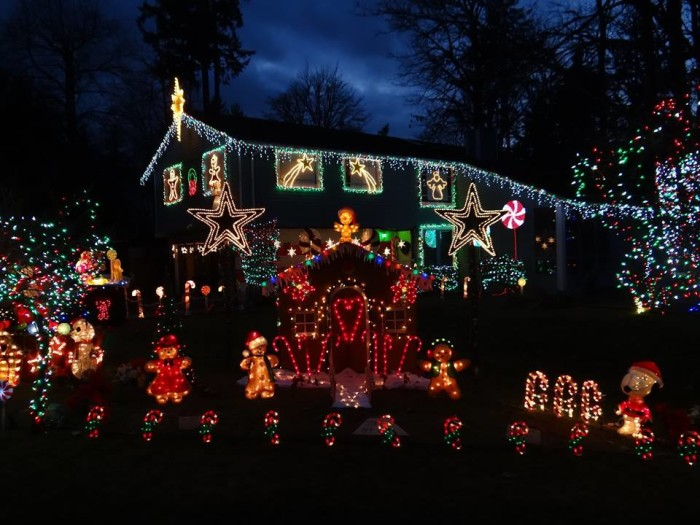 1. The Very Merry Christmas House of Lights, Kent