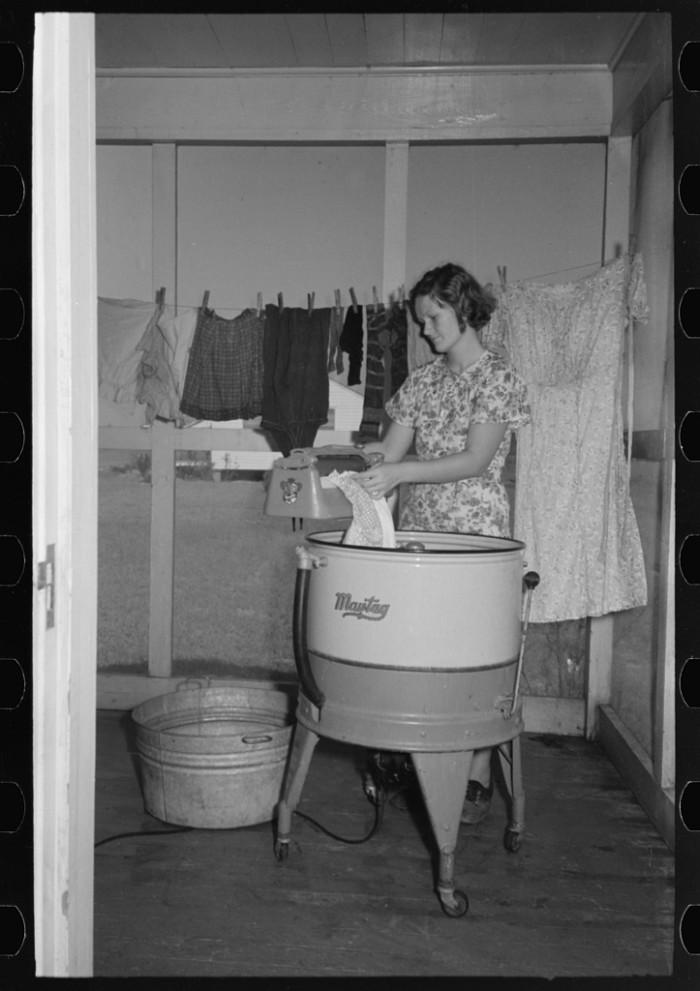 15. Washing Clothes