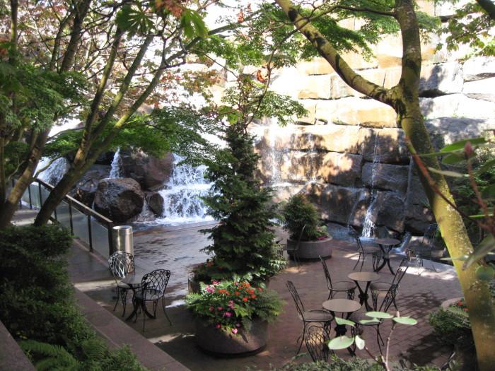 9. Waterfall Garden Park, Seattle