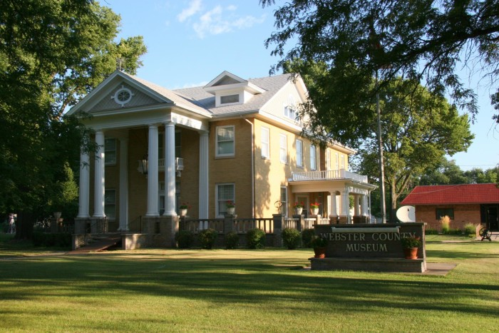 webster county museum