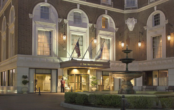 9. Or go all-out and spend the weekend at the historic Poinsett Hotel, a Westin property in downtown Greenville.