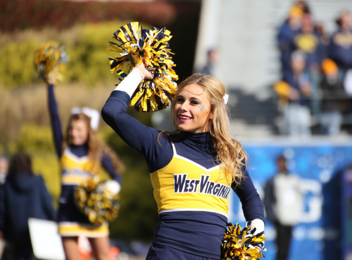 """2. The WVU fans among us sometimes shout a """"Let's Go..."""" at random places and wait for someone to reply with """"Mountaineers!"""""""