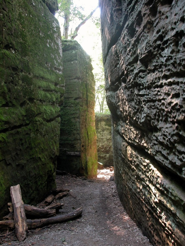 7. Giant City State Park
