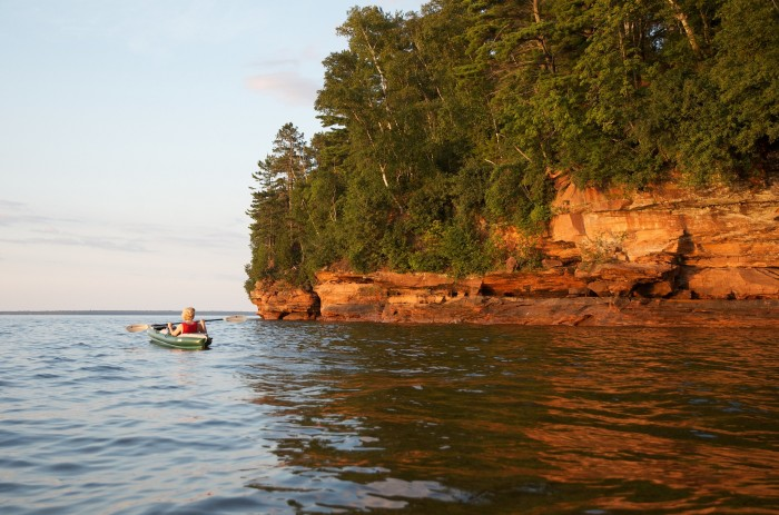 3. Head out in your kayak.