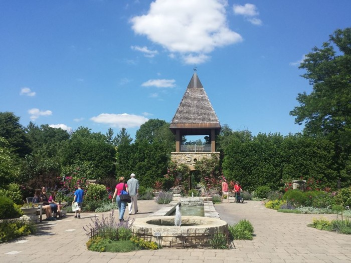 7. Stop and smell the roses at Olbrich Botanical Gardens.