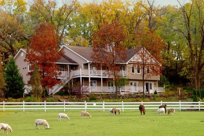 9. Take a mini-vacay at The Speckled Hen Inn Bed and Breakfast.