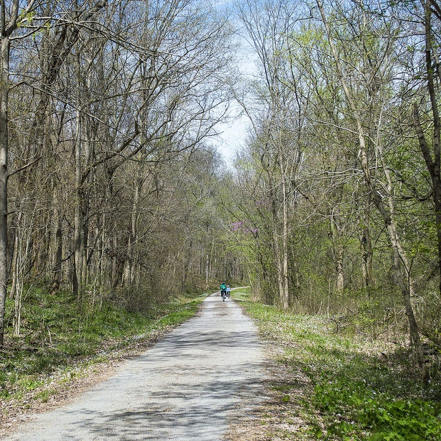 2. Take a long bike ride on Tunnel Hill State Trail.