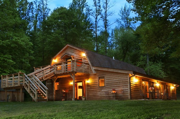 5. Kick back and relax at CornerStone Cabins.
