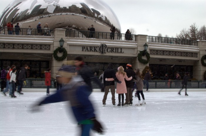 10. You can go ice skating outdoors.