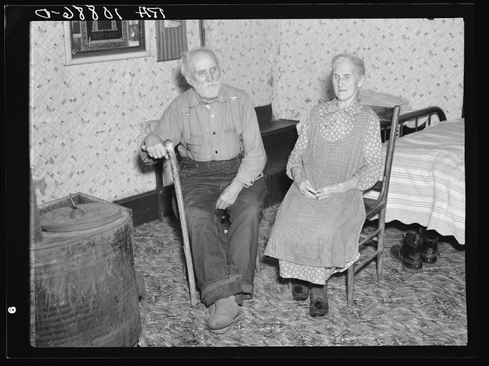 15. Grandpa and Grandma are hanging out in their home in Alvin in 1937.