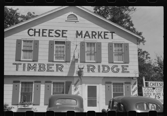 18. Here is a 1941 cheese market in Kenosha.