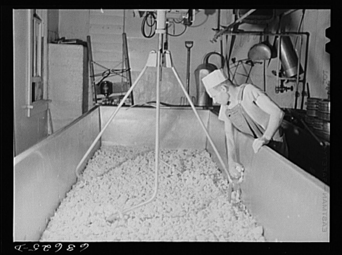 4. Yes, even in 1941 they were making American cheese.