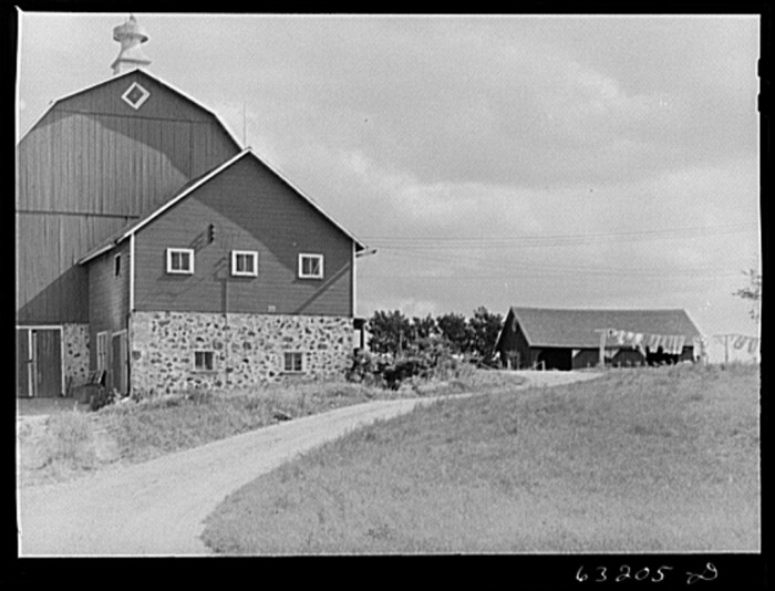 8. This is a shot of how farms once looked in Fond du Lac.