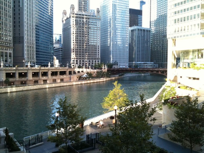 4. Why does the Chicago River run the opposite direction?