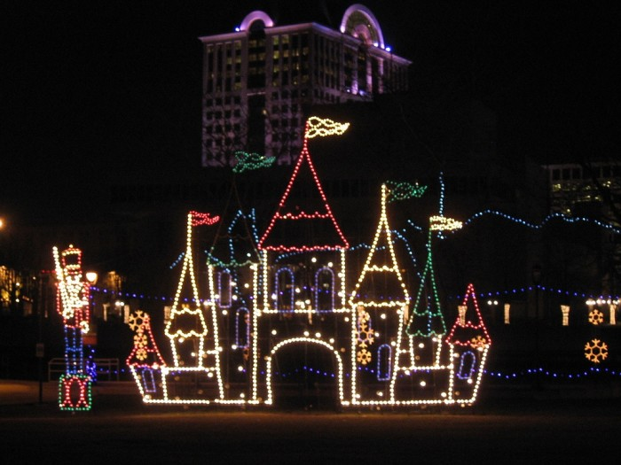 7. Christmas lights displays abound, and it is fun to drive through neighborhoods where people go all out.