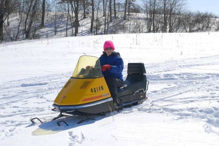 9. No snow equals no snowmobiling. And snowmobiling is AWESOME.
