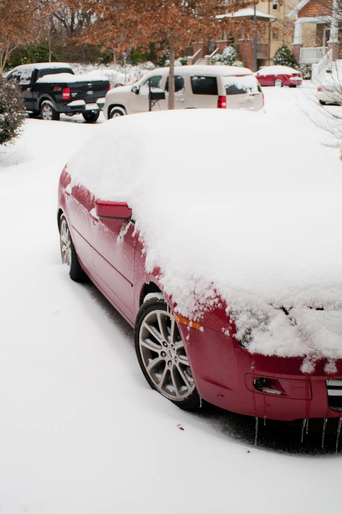 3. We willingly drive in conditions like this.