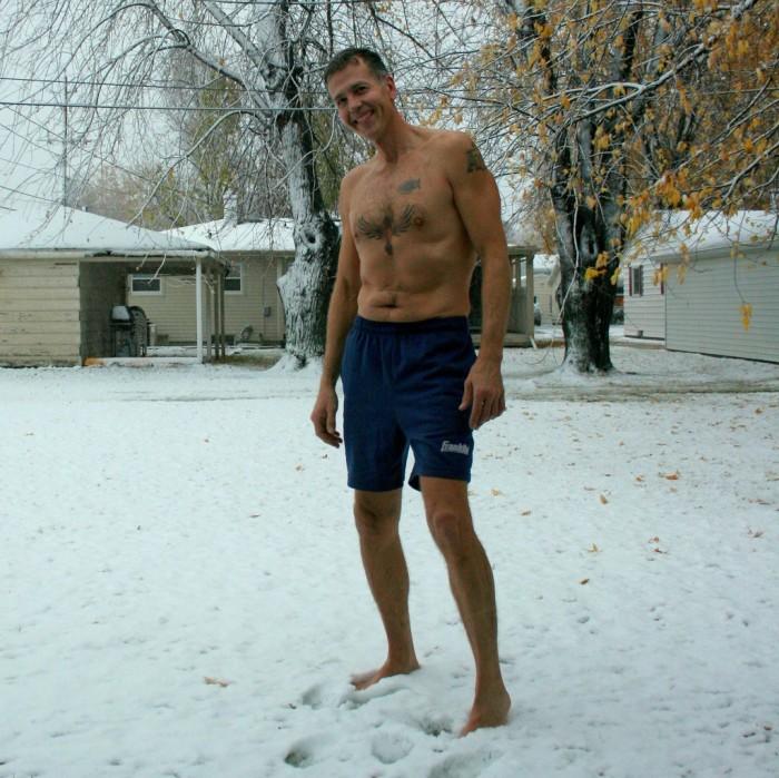 5. We wear shorts in the winter.