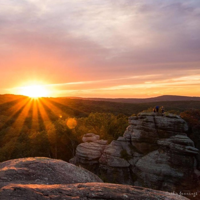 8. Shawnee National Forest