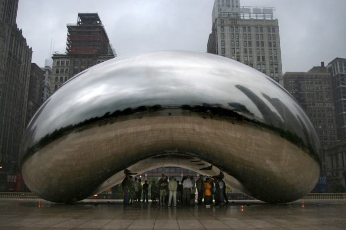 10. Cloud Gate