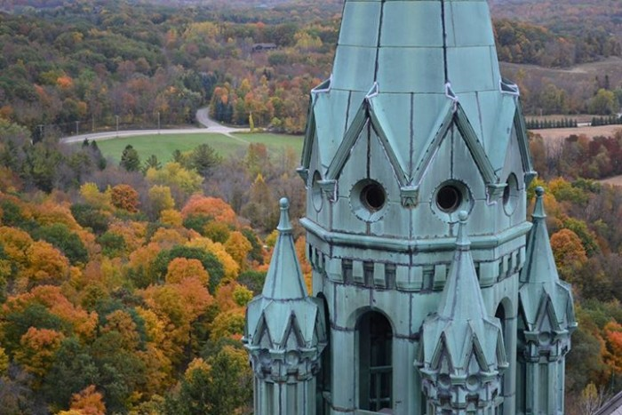 12. I'm not sure it's possible to take a bad shot at Holy Hill, but this is an awesome one.