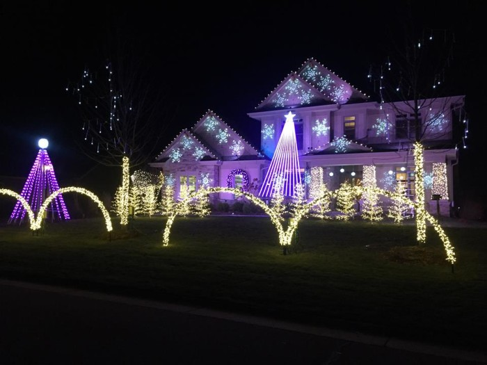 3. In Muskego, you will not be able to get enough of these decorations, complete with music to go along with the display.