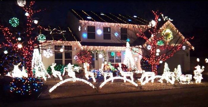 4. This Kenosha house (with 30,000 lights!) is getting a lot of buzz from the press.