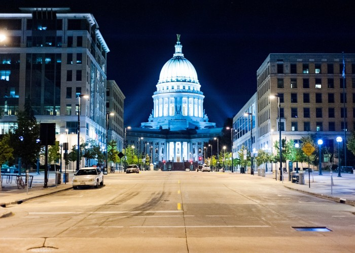 9. Madison got named a Platinum level biking community by the League of American Bicyclists.