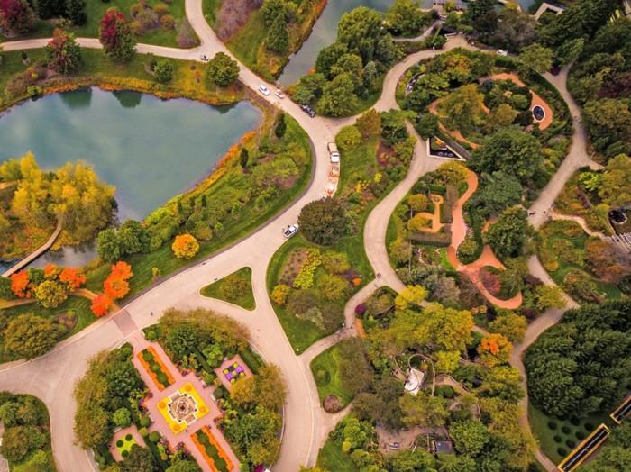 3. Rather than go to the Chicago Botanic Garden...