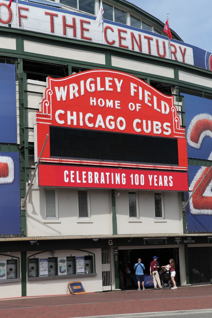 5. Rather than taking in a game at Wrigley Field...