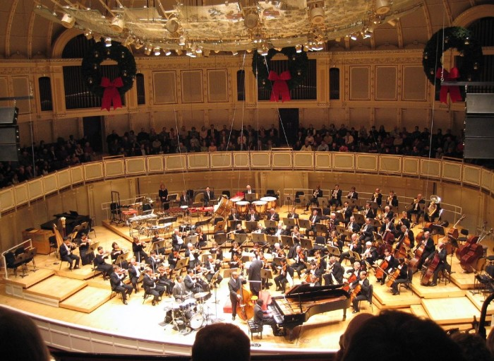 7. Rather than listen to the Chicago Symphony Orchestra...